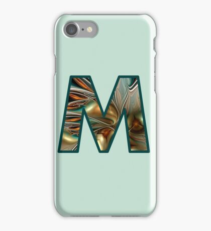 Fractal – Alphabet – M is for Magic iPhone Case/Skin