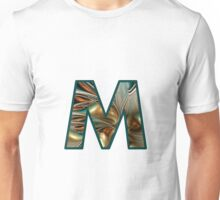 Fractal – Alphabet – M is for Magic Unisex T-Shirt