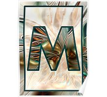 Fractal – Alphabet – M is for Magic Poster