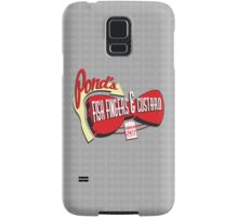 Fish Fingers & Custard Samsung Galaxy Case/Skin