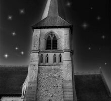 Church at Night... by paradox0076