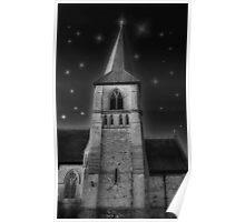 Church at Night... Poster