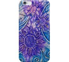 iphone case - foil sunflowers iPhone Case/Skin