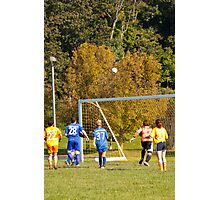 Soccer Ball Air Ball Photographic Print