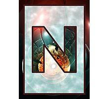 Fractal – Alphabet – N is for Night Vision Photographic Print