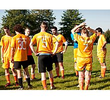 Team Meeting Photographic Print