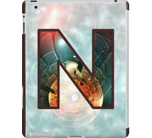 Fractal – Alphabet – N is for Night Vision iPad Case/Skin