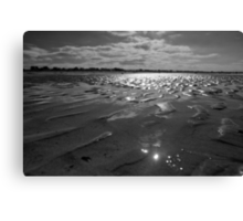 Sands of History - Gold Beach Normandy Canvas Print