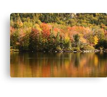 Echo Lake, New Hampshire Canvas Print