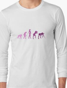 Girl Photographer Evolution T-Shirt