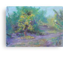 Dusk in the Grove (pastel) Metal Print
