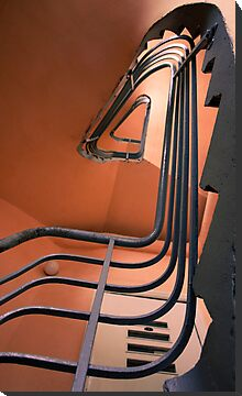 Vintage spiral stairs by wildrain