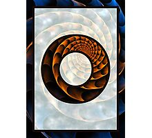 Fractal – Alphabet – O is for Out of Reach Photographic Print