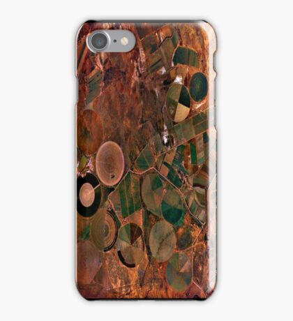 """Circles On Earth"" - phone iPhone Case/Skin"