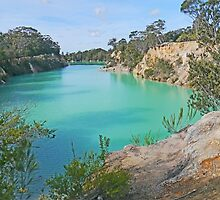 Little Blue Lake, Gladstone, Tasmania by Graeme  Hyde