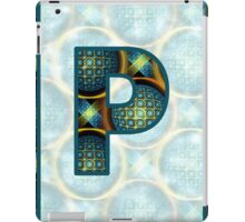 Fractal – Alphabet – P is for Patterns iPad Case/Skin