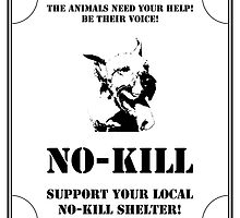 No-Kill United - ES SUPPORT NO-KILL SHELTERS (PRINT) by Anthony Trott
