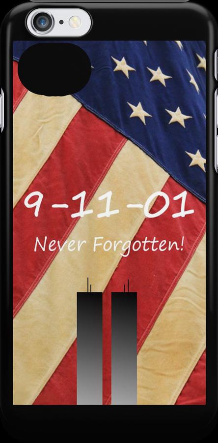 Apple iPhone Accessories--iPhone skin--9-11 Tribute by JoeDavisPhoto