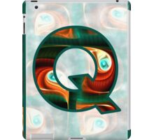 Fractal – Alphabet – Q is for Quizzical iPad Case/Skin