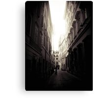 Lost in Rome Canvas Print