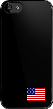 Iphone USA black by Lee Eyre