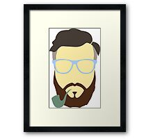Hipster Your Style Framed Print