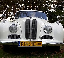 Wonderful classic wedding car. BMW . model 501. Anno Domini . 1954 . by Brown Sugar. Views: 431, Thx ! friends ! by AndGoszcz