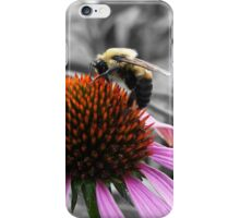 Bee On Coneflower iPhone Case/Skin