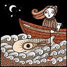 Floras Fantasy Fish (Fittie) by Anita Inverarity