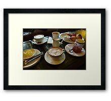 Cappuccino Plus Framed Print