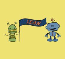 sean w robots Kids Tee