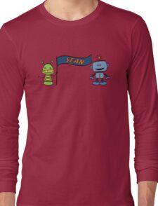 sean w robots Long Sleeve T-Shirt