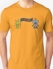 sean w robots T-Shirt