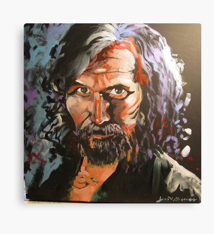 Portrait of Sirius Black Canvas Print