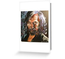 Portrait of Sirius Black Greeting Card