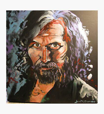 Portrait of Sirius Black Photographic Print