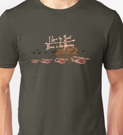 I Love the Smell of Bacon in the Morning Unisex T-Shirt