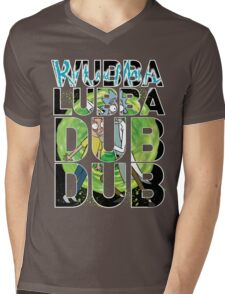 Wubba Lubba Dub Dub - Rick Morty Mens V-Neck T-Shirt