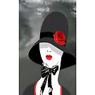 .`. A Touch Of Class Womans iPhone Cover  .`. by  Bonita Lalonde