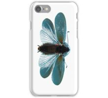 Blue Moth iPhone Case/Skin
