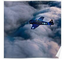 North American Aviation T-6 Texan Poster