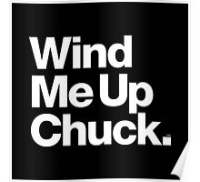 Chuck Brown DC Go-Go Wind Me Up Poster