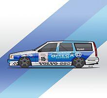 BTCC Volvo 850 TWR Wagon Race Car by Tom Mayer