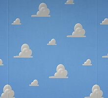 Toy Story Clouds by Rachel Miller