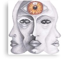 Telepathy Canvas Print