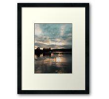 Fishing shack Framed Print