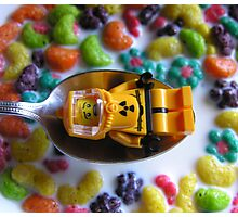Lego Breakfast Photographic Print