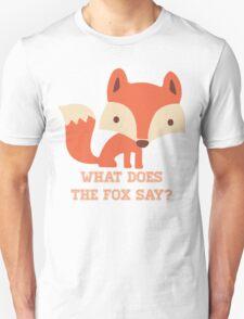 CARTOON FOX Unisex T-Shirt