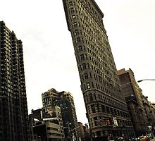 Flat Iron Building by Caroline Fournier
