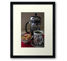 Saturday Morning Framed Print